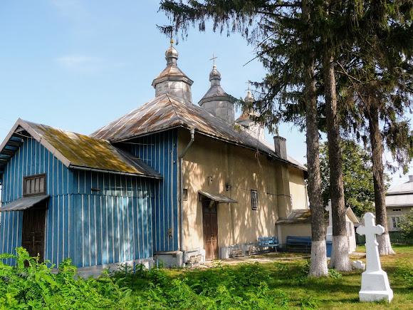 Лужаны. Свято-Вознесенская церковь. 15 в.