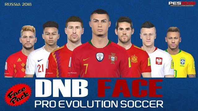 New Face Pack V1 PES 2018