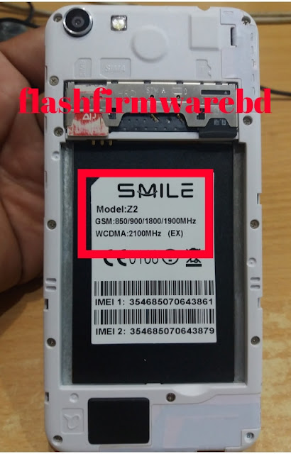 Smile Z2 ( EX ) Flash File MTK6572 4 4 2 Firmware 100% Tested