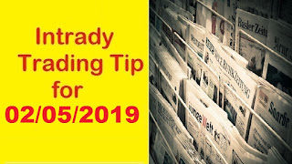 Investing Guide | Indian Stock Market Intraday Trading Tips for Thursday- 02/05/2019