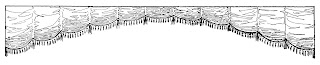 curtain border design illustration digital image clipart