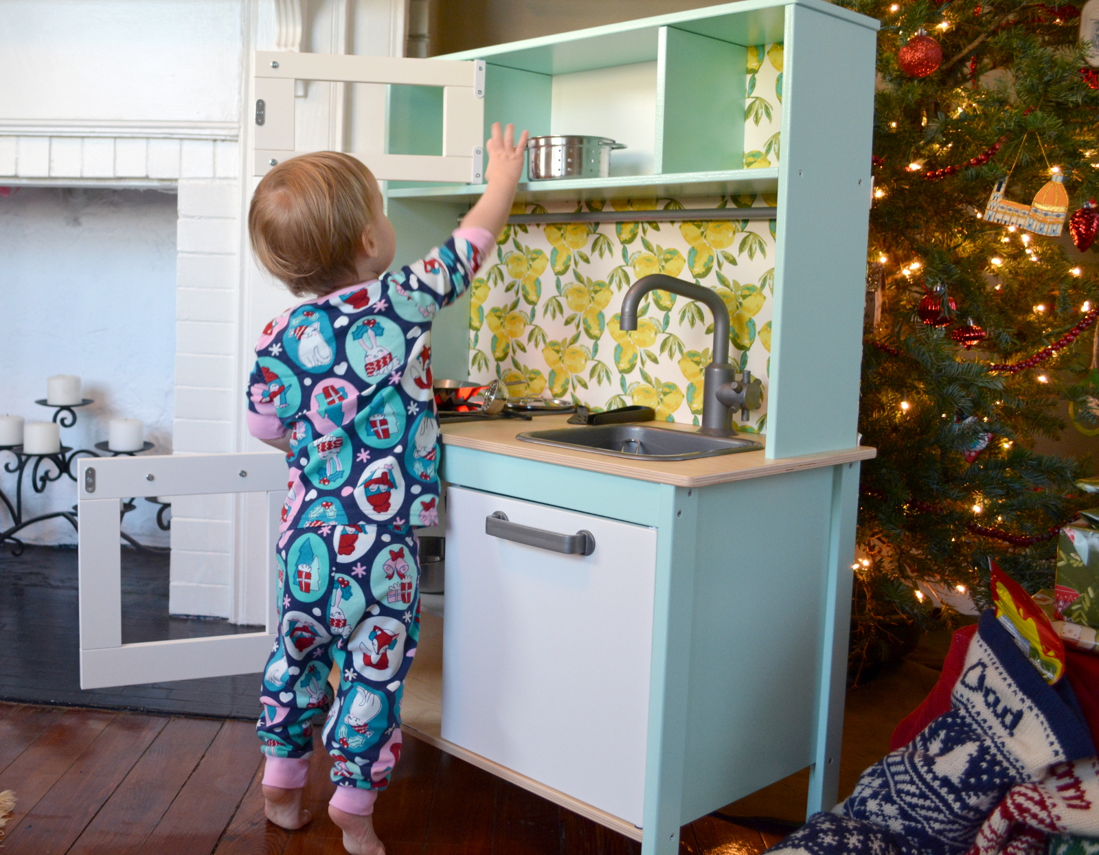 cozy birdhouse | ikea duktig kitchen makeover