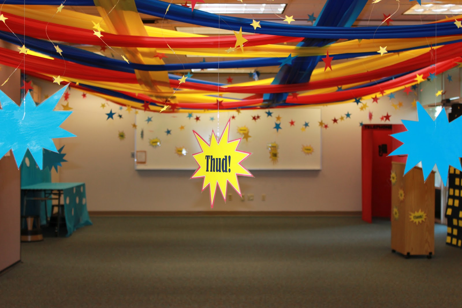 Diy Home Center Superhero Training Academy Decorations Cinjoella