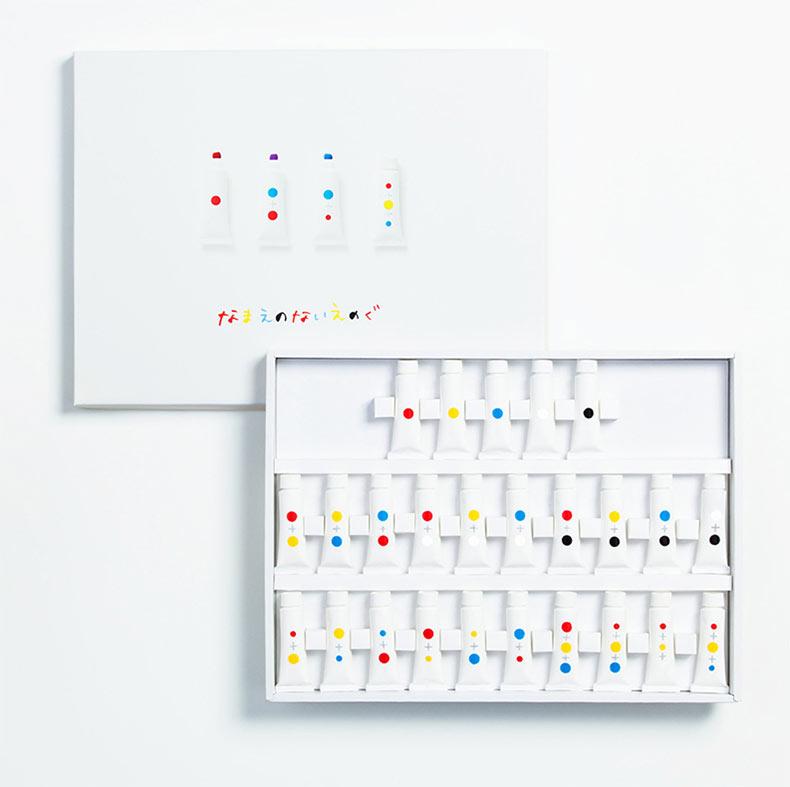 El set de pinturas sin nombre: Una forma opción de comprender el color