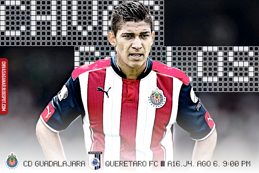 Liga MX : CD Guadalajara vs Querétaro FC - Apertura 2016 - Jornada 4.