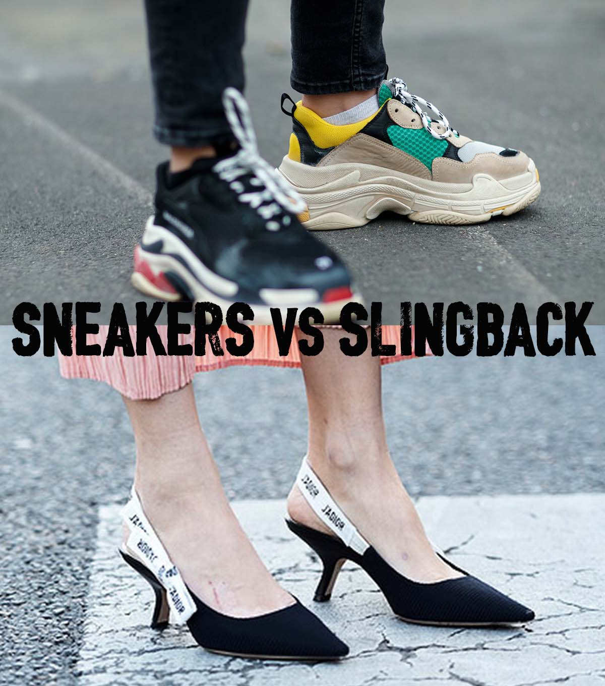 Eniwhere Fashion - Sneakers vs Slingback