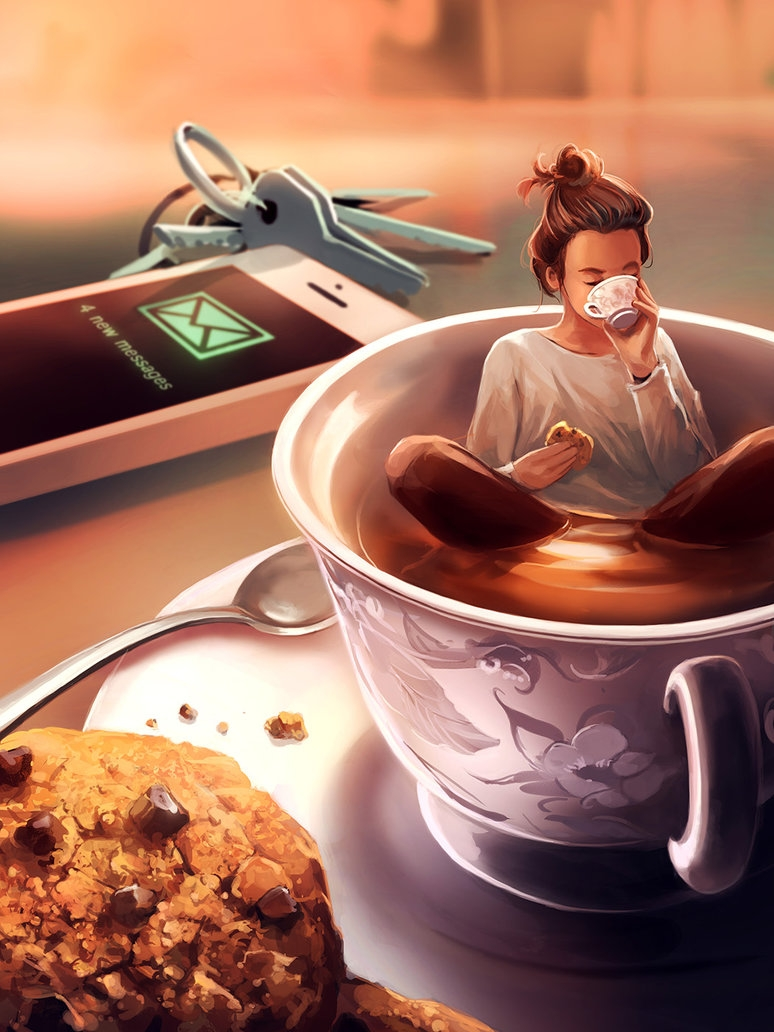 06-Tea-Time-Rolando-Cyril-Aquasixio-Digital-Art-Cocktail-1-Part-Surrealism-and-1-Part-Fantasy-www-designstack-co