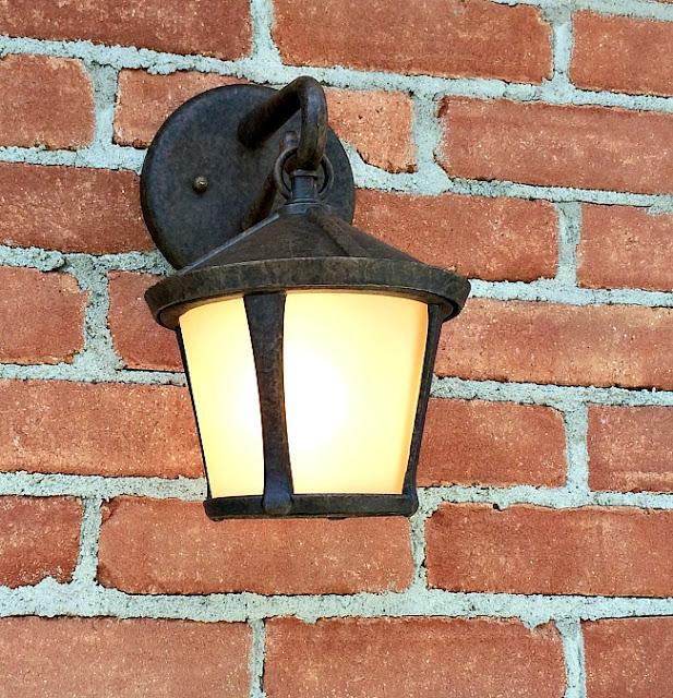 changing an outdoor light fixture