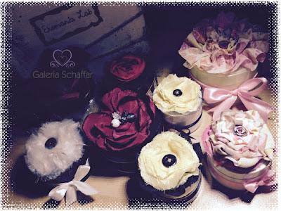 opakowania kosmetyczne ozdobione kwiatami galeria schaffar ręcznie robione handmade