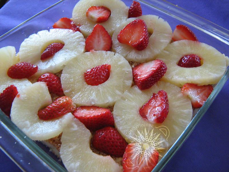 Cocina costarricense carlota de frutas - Postres con fresas naturales ...