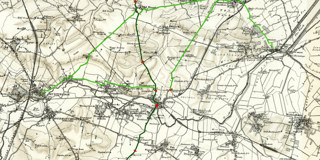 St Ives turnpike roads and tolls