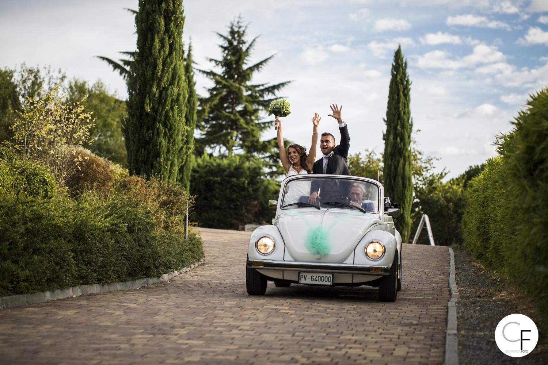 Noleggio auto sposi Vercelli maggiolone