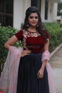 Actress Aathmika in lovely Maraoon Choli ¬  Exclusive Celebrities galleries 037.jpg