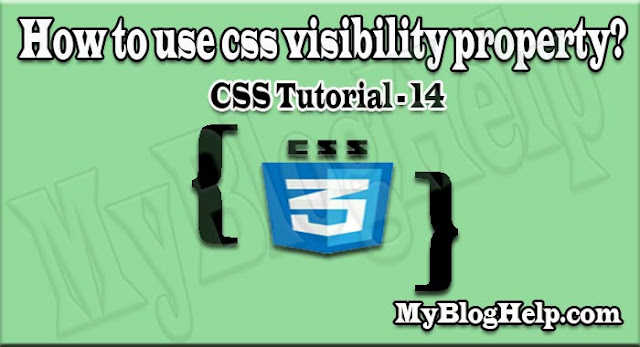css visibility property