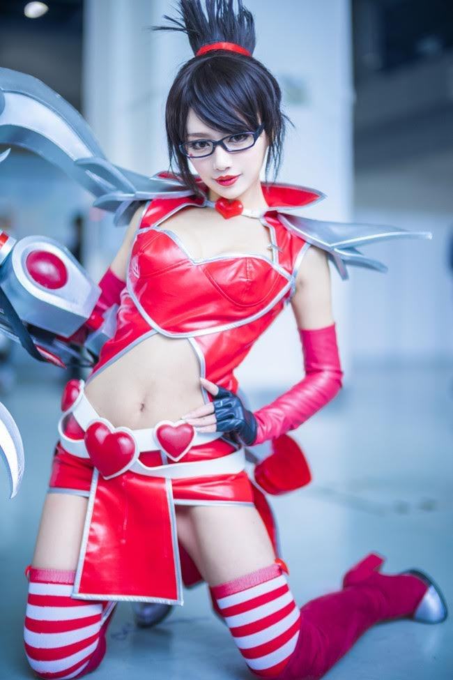 Cosplay Vayne - League of Legends