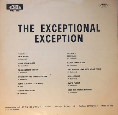 The Exception – The Exceptional Exception (1969)