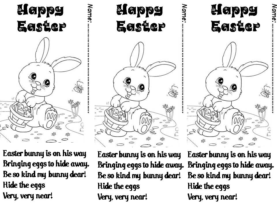 Enjoy Teaching English: EASTER (POEM)