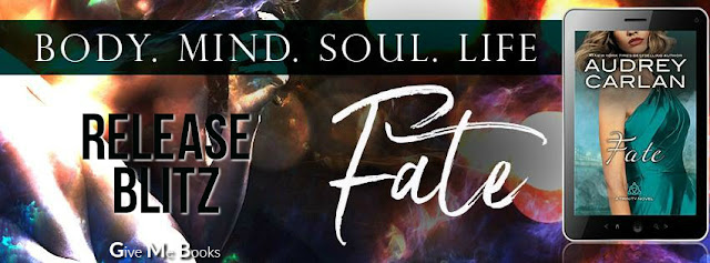 Release Blitz - Fate (Trinity #5) by Audrey Carlan