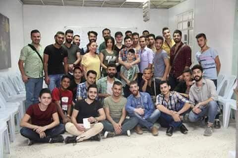 مالمفاجأه التي أعدها المخرج السوري محمد عبود لمتبعي دورة ممثل