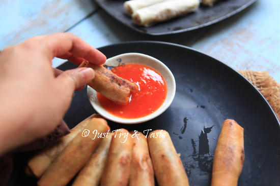 Resep Lumpia Crispy Isi Bengkuang