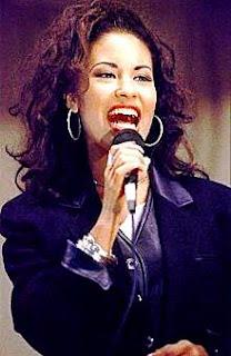 Foto de Selena cantando