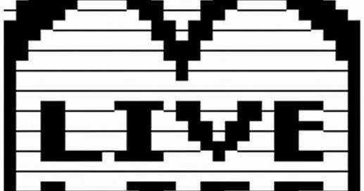 Live Life Copy Paste ASCII Text Art