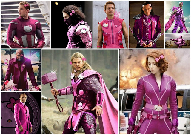 Are the Avengers Hello Kitty Fans?