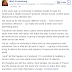 Facebook's Mark Zuckerburg reacts to JeSuisCharlie‬ incident