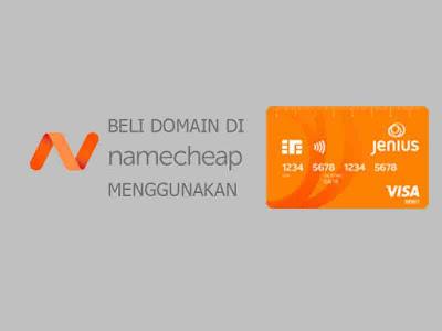 Cara Order Domain di Namecheap Tanpa ATM