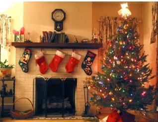 cómo hacer un rincón navideño bonito, ideas para hacer un rincón navideño