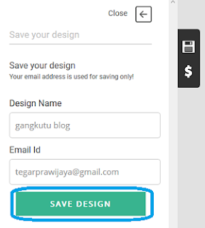 simpan desain online