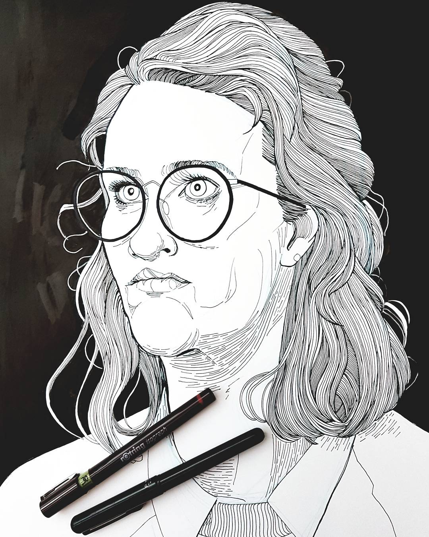 Black Mirror illustration San Junipero