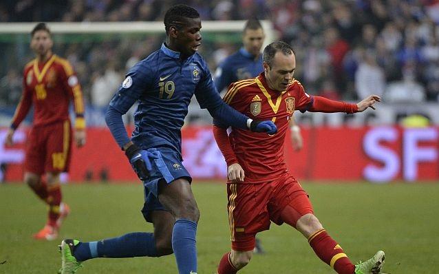 Francia vs España en vivo