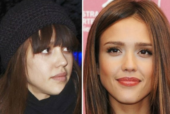 Jessica Alba Tanpa Make Up