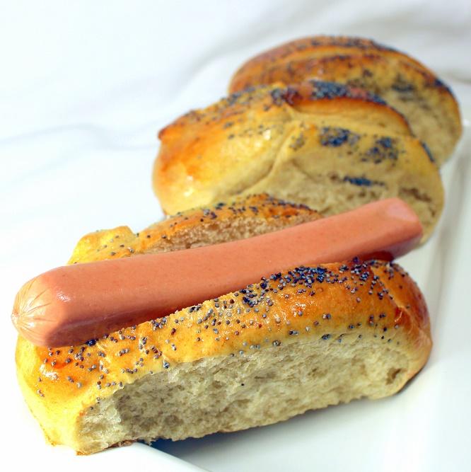Bread Machine Hot Dog Buns