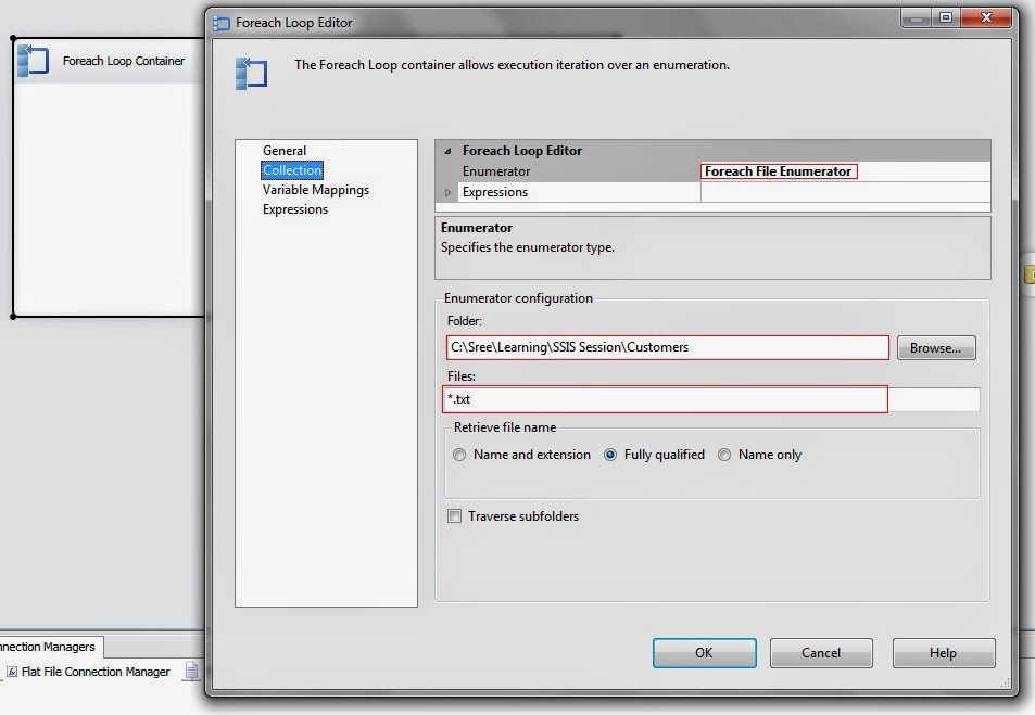 Foreach File Enumerator in SSIS - CodeProject
