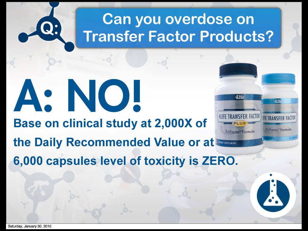4life Transfer Factor Plus Tri Formula 2 Advance Trifactor The Blind Studies Tested E Xf Primary Ingredient In