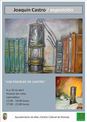 Cartel exposición pintura Joaquín Castro