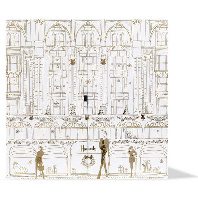 Satchel harrods beauty advent calendar 2017 for Door 4 harrods