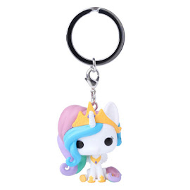 My Little Pony Regular Princess Celestia Pocket Pop! Keychain Funko