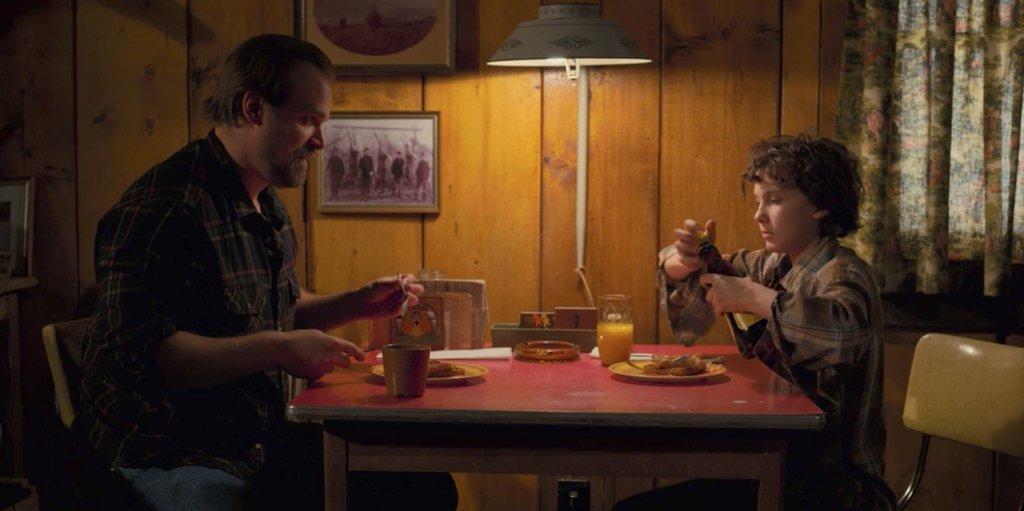Hopper et Eleven (Stranger Things 2)