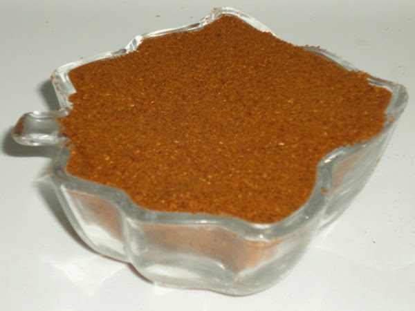 kala masala in a container