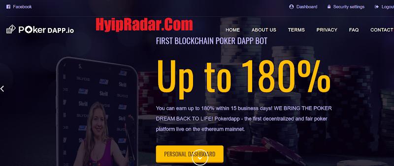 [SCAM] Review PokerDAPP - Lãi từ 10% hằng ngày - Thanh toán tức thì