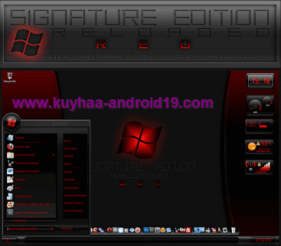 THEME WINDOWS 7 SIGNATURE RED