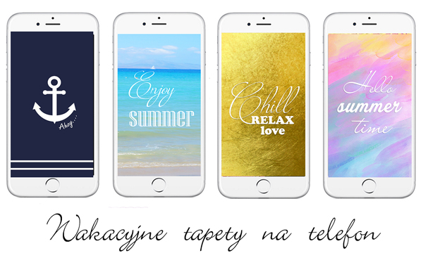 wakacyjne tapety na telefon summer phone wallpapers