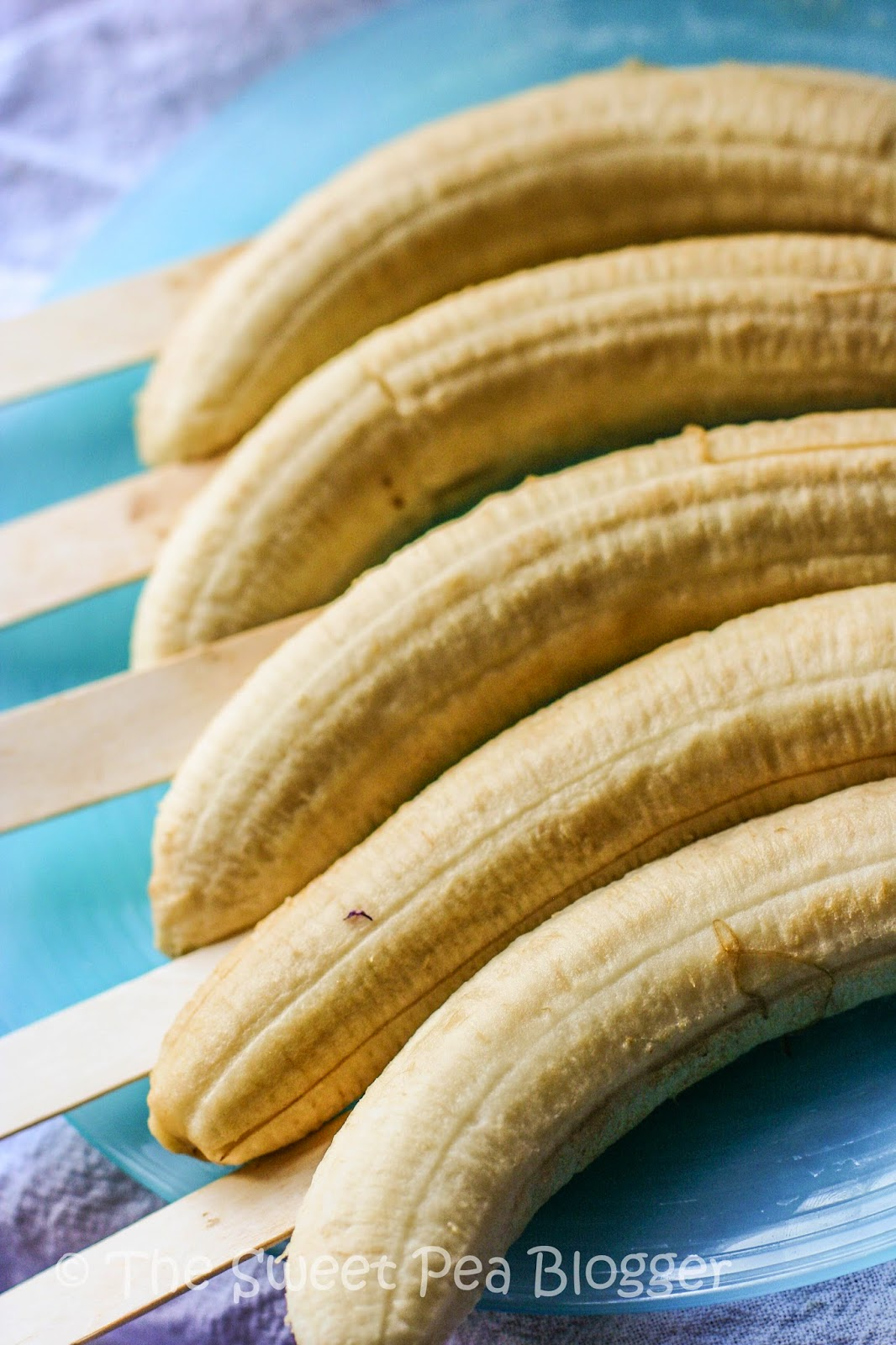 Frozen Banana Stick Popsicles