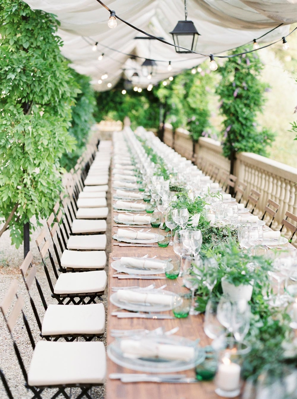 decoración toscana para una boda chicanddeco