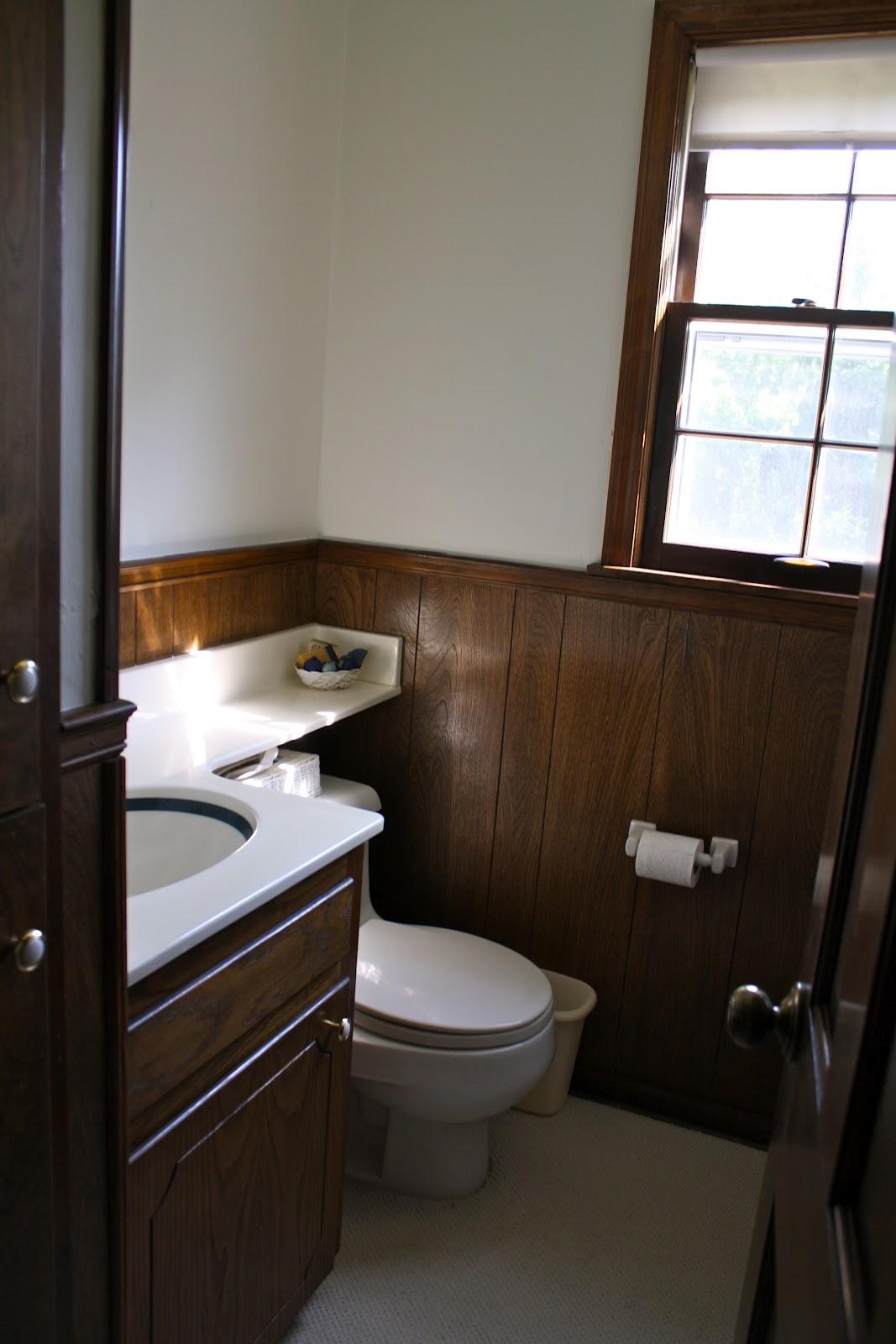 Diy bathroom remodel julie blanner - Half bathroom remodel ideas ...
