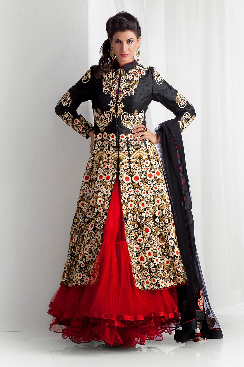 Top 2014 Fall 2015 Winter Fashion Trends: Top Wedding Lehenga Collection 2014