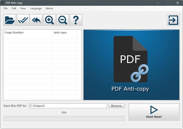 PDF Anti-copy - bảo vệ và chống sao chép dữ liệu từ tập tin PDF